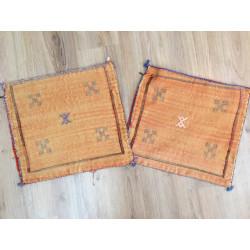 Housses de coussins Sabra orange