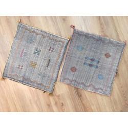 Housses de coussins Sabra aux jolis petits motifs berbères