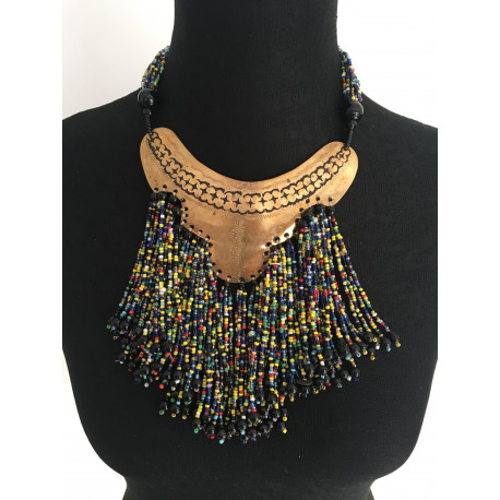 collier perle fabrication