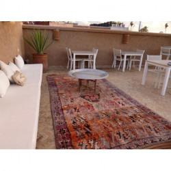 Grand tapis berbère Boujad motifs primitifs