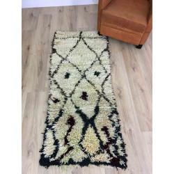 Tapis berbère Azilal laine et coton