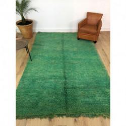 Rare tapis berbère Beni M'Guild vert