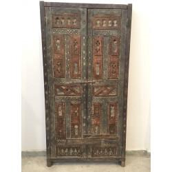 Porte marocaine double avec cadre