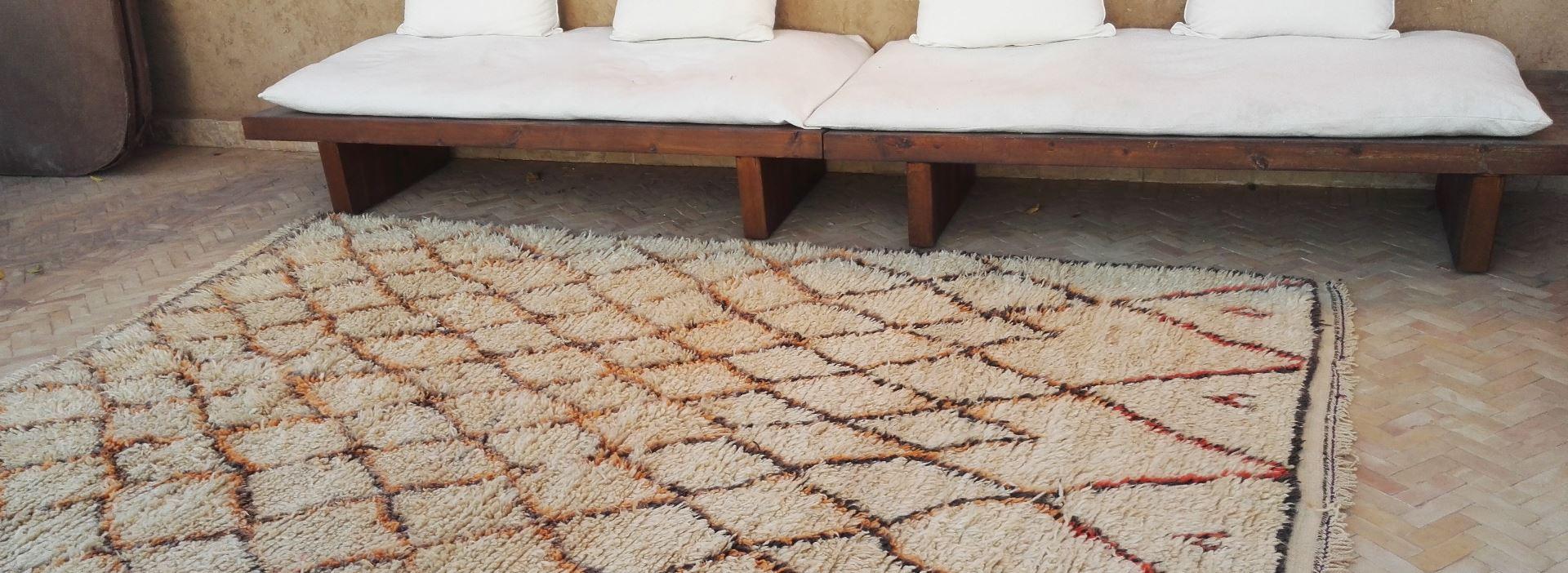 Découvrez le tapis Beni Ouarain !